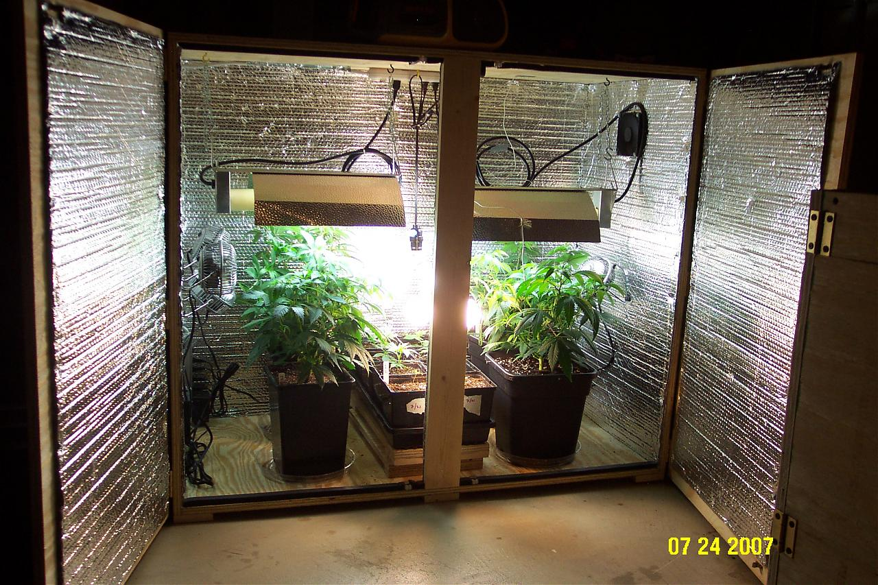 Indoor Marijuana Grow Boxes